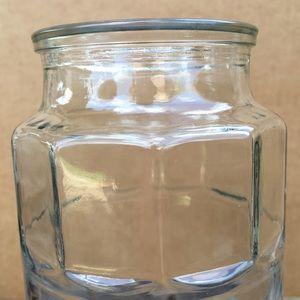 Vintage Kitchen - 1981 Anchor Hocking Planter's Collector Glass Jar